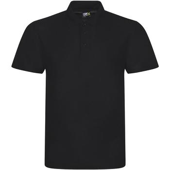Textil Homem Polos mangas curta Prortx RX101 Preto
