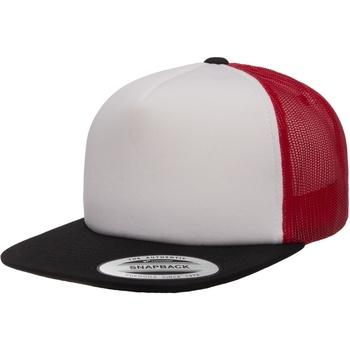 Acessórios Boné Flexfit F6005FW Preto/Branco/Vermelho