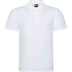 Textil Homem Polos mangas curta Prortx RX101 Branco