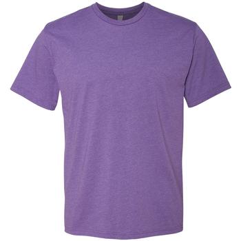 Textil Homem T-Shirt mangas curtas Next Level NX6210 Rush Púrpura