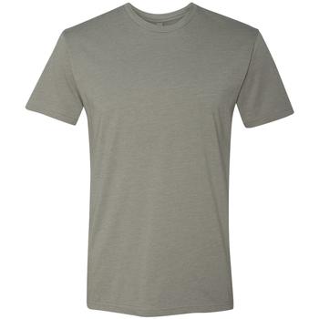 Textil Homem T-Shirt mangas curtas Next Level NX6210 Cinza-pedra