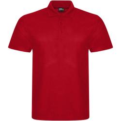 Textil Homem Polos mangas curta Prortx RX101 Vermelho