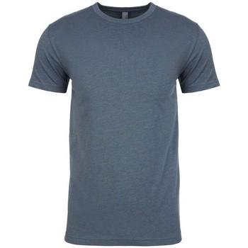 Textil Homem T-Shirt mangas curtas Next Level NX6210 Indigo