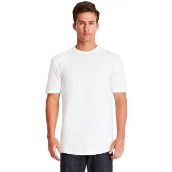 Textil Homem T-Shirt mangas curtas Next Level NX3602 Branco