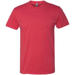 Textil Homem T-Shirt mangas curtas Next Level NX6210 Vermelho