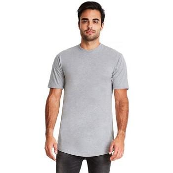Textil Homem T-Shirt mangas curtas Next Level NX3602 Heather Grey