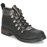Sapatos Mulher Botas baixas Casual Attitude MIZATTE Preto