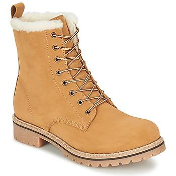 Sapatos Mulher Botas baixas Casual Attitude EFUTIFE Bege