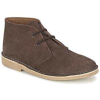 Sapatos Homem Botas baixas Casual Attitude IXIFU Castanho