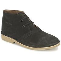 Sapatos Homem Botas baixas Casual Attitude IXIFU Preto