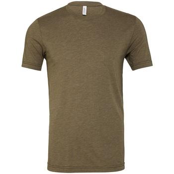 Textil T-Shirt mangas curtas Bella + Canvas CV3413 Verde Militar