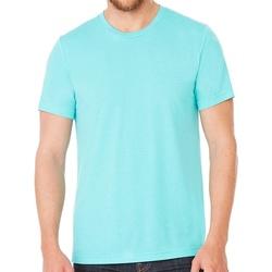 Textil T-Shirt mangas curtas Bella + Canvas CV3413 Sea Green Triblend