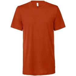 Textil T-Shirt mangas curtas Bella + Canvas CV3413 Tijolo Triblend