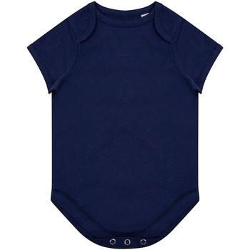 Textil Criança Macacões/ Jardineiras Larkwood LW655 Marinha