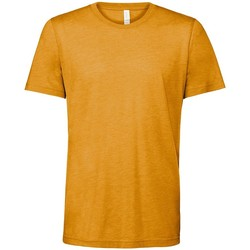 Textil T-Shirt mangas curtas Bella + Canvas CV3413 Mustard Triblend