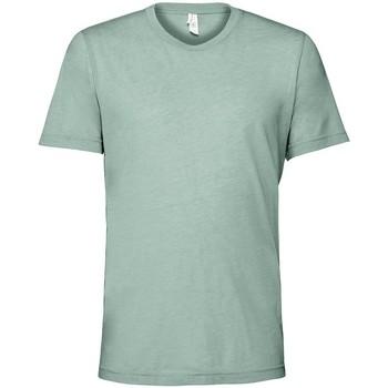 Textil T-Shirt mangas curtas Bella + Canvas CV3413 Dusty Blue Triblend