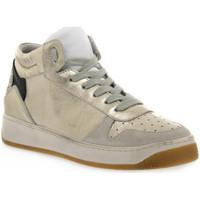 Sapatos Mulher Multi-desportos At Go GO 584 VELOUR GHIACCIO Bianco