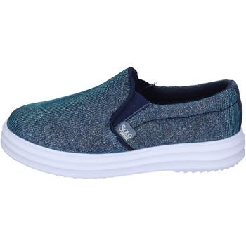 Sapatos Rapariga Slip on Solo Soprani Sneakers BK194 Azul