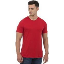 Textil Homem T-Shirt mangas curtas Awdis JT001 Heather Red