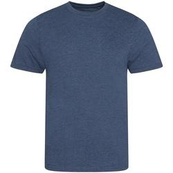 Textil Homem T-Shirt mangas curtas Awdis JT001 Heather Navy