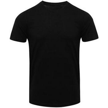 Textil Homem T-Shirt mangas curtas Awdis JT001 Preto sólido