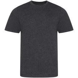 Textil Homem T-Shirt mangas curtas Awdis JT001 Heather Charcoal