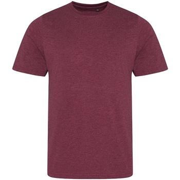 Textil Homem T-Shirt mangas curtas Awdis JT001 Heather Burgundy