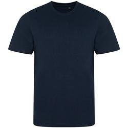 Textil Homem T-Shirt mangas curtas Awdis JT001 Marinha sólida
