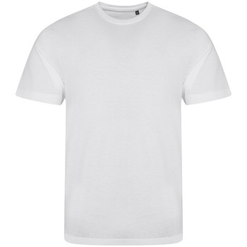 Textil Homem T-Shirt mangas curtas Awdis JT001 Branco sólido