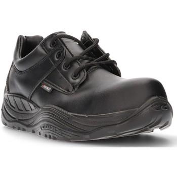 Sapatos Homem Sapatilhas Calzamedi SAPATO DE SEGURANÇA COFRA SAGUYS CABALLERO NEGRO