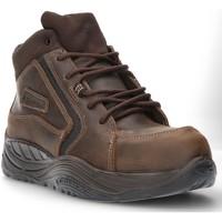 Sapatos Homem Sapatilhas de cano-alto Calzamedi DE SEGURANÇA COFRA ESALEN S3 SAGUYS M CASTANHO