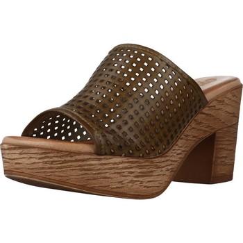 Sapatos Mulher Chinelos Cokketta 1212Y Verde