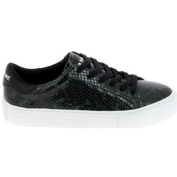 Sapatos Mulher Sapatilhas No Name Arcade Print Kobra Noir Vert Fonce Preto