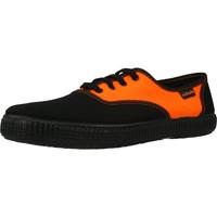 Sapatos Homem Sapatilhas Victoria 106652 Laranja