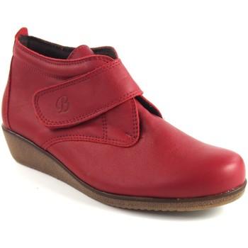 Sapatos Mulher Botins Bellatrix 7546 Rojo