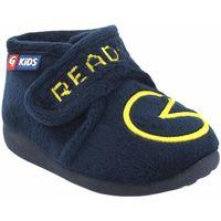 Sapatos Rapaz Chinelos Garzon Vá para casa garoto  n4155.247 azul Bleu