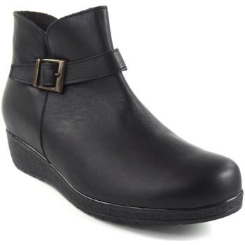 Sapatos Mulher Botins Bellatrix Senhora  7547 preto Preto