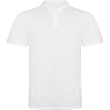 Textil Homem Polos mangas curta Awdis JP020 Slub White