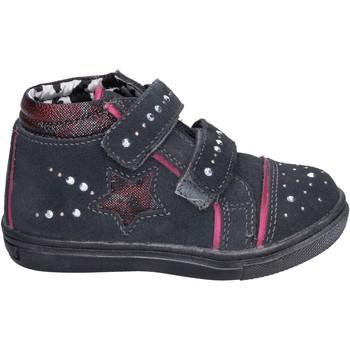 Sapatos Rapariga Sapatilhas de cano-alto Didiblu Sneakers BK203 Cinza