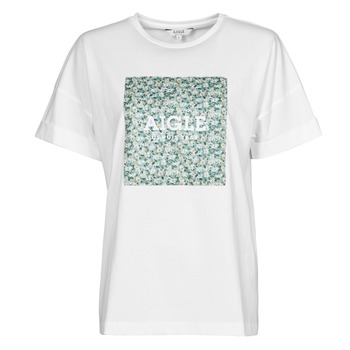 Textil Mulher T-Shirt mangas curtas Aigle RAOPTELIB Branco