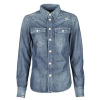 Textil Mulher camisas G-Star Raw KICK BACK WORKER SHIRT WMN L\S Azul
