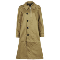 Textil Mulher Trench G-Star Raw TRENCH WMN Bege