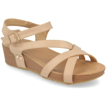 Sapatos Mulher Sandálias Encor D063 Beige