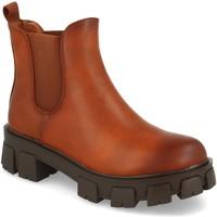 Sapatos Mulher Botins Ainy 2052 Camel