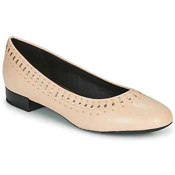Sapatos Mulher Sabrinas Geox D WISTREY Rosa / Ouro