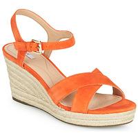 Sapatos Mulher Sandálias Geox D SOLEIL Laranja