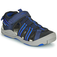 Sapatos Criança Sandálias Geox JR SANDALE KYLE Azul