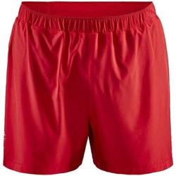 Textil Homem Shorts / Bermudas Craft Adv Essence 5 Stretch Vermelho