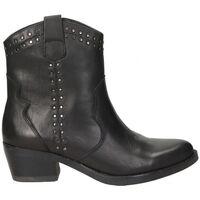 Sapatos Mulher Botins Carmela BOTINES  67387 MODA JOVEN NEGRO Noir