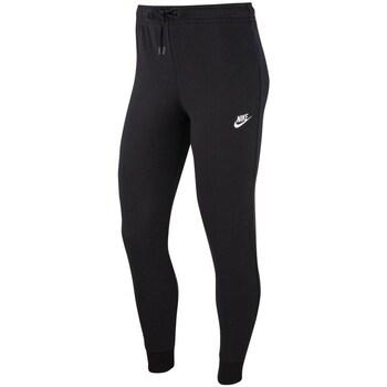Textil Mulher Calças de treino Nike Essential Preto